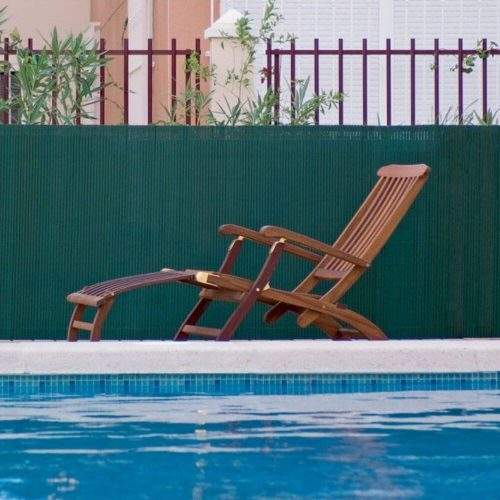 Cañizo-PVC-verde-media-caña-separación-ocultación-decoración-valla-jardín-hogar