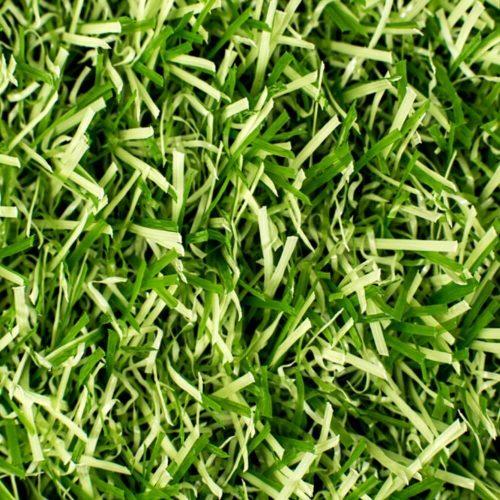 cesped artificial bicolor verde